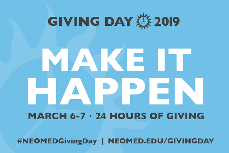 NEOMED Giving Day 2019 · GiveCampus