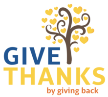 Give Thanks by Giving Back