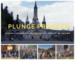 Campus Ministry's Plunge Program