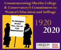 Oberlin's Role in Suffrage & Coeducation