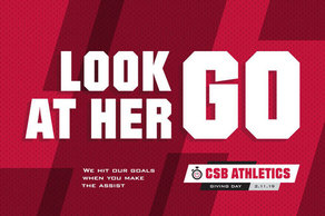 Look at her go CSB Athletics Give Day