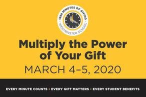 1888 Minutes of Giving Alumni Challenge