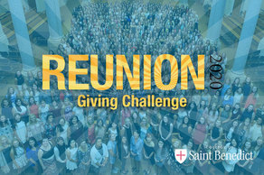 Reunion Giving Challenge Honoring the College of Saint Benedict Class of 2020