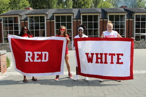 Red vs. White Founder's Day Challenge!