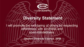 Support Diversity and Intercultural Life at Culver!