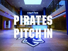 "Image that reads ""Pirates Pitch-In"""