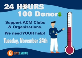 Support ACM Student Clubs and Organizations Today!