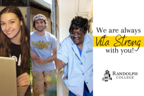Randolph is always #VitaStrong with you!