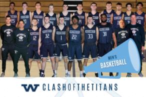 Men's Basketball (Clash of the Titans)