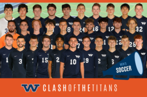 Men's Soccer (Clash of the Titans)