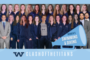 Women's Swimming & Diving Team