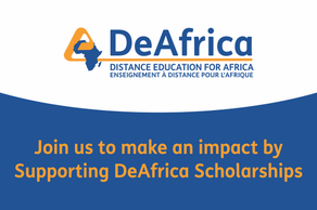 Support DeAfrica Scholarships