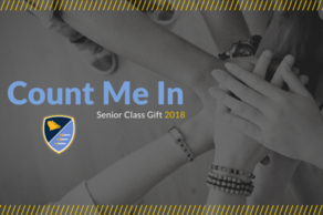 Count Me In! Senior Class Gift 2018
