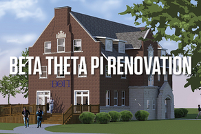 $60,000 to Go - Beta Theta Pi House Renovation