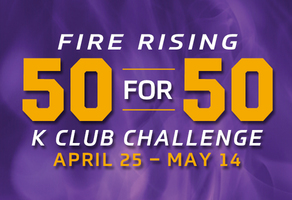 Fire Rising 50 for 50 K Club Challenge, April 25 - May 14