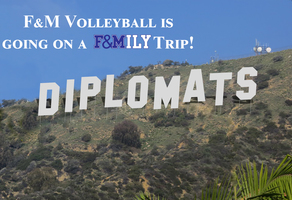 F&M Volleyball Trip to California for the Pacific Coast Classic hosted by Pomona Pitzer.