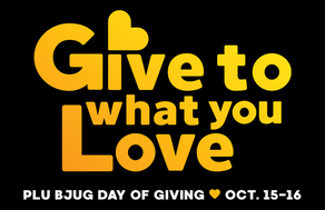 PLU Bjug Day of Giving