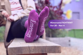 TIGHT KNIT: The Emerson Sock Campaign