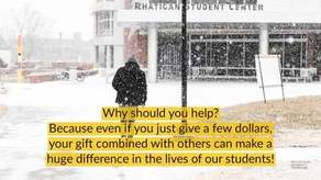 Faculty/Staff Holiday Card Scholarship Campaign Image