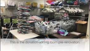 Taylor's Project-Thrift Store Renovation Campaign Image