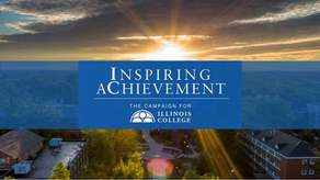 Inspiring Achievement: The Campaign for Illinois College Campaign Image