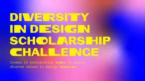 Diversity in Design Scholarship Campaign Image