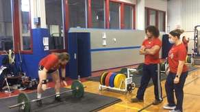 Pioneer Olympic Weightlifting Campaign Image