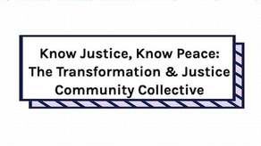 Know Justice, Know Peace Campaign Image