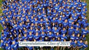 Class of 2021 Senior Class Gift Campaign Image