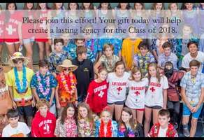 Class of 2018 Gift Effort Campaign Image