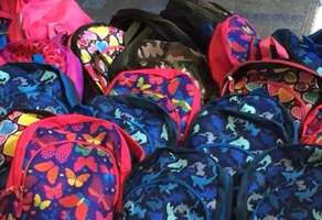 School of Education Backpack Project Campaign Image