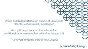 Actuarial Science Center of Excellence Campaign Image