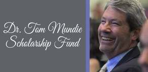 Dean Tom Mundie Scholarship Fund Campaign Image