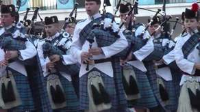 The Citadel Regimental Pipe Band Campaign Image