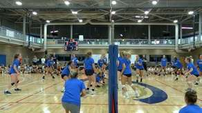 Volleyball Adopt-A-Golden Eagle Campaign Image