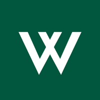 Logo square square green